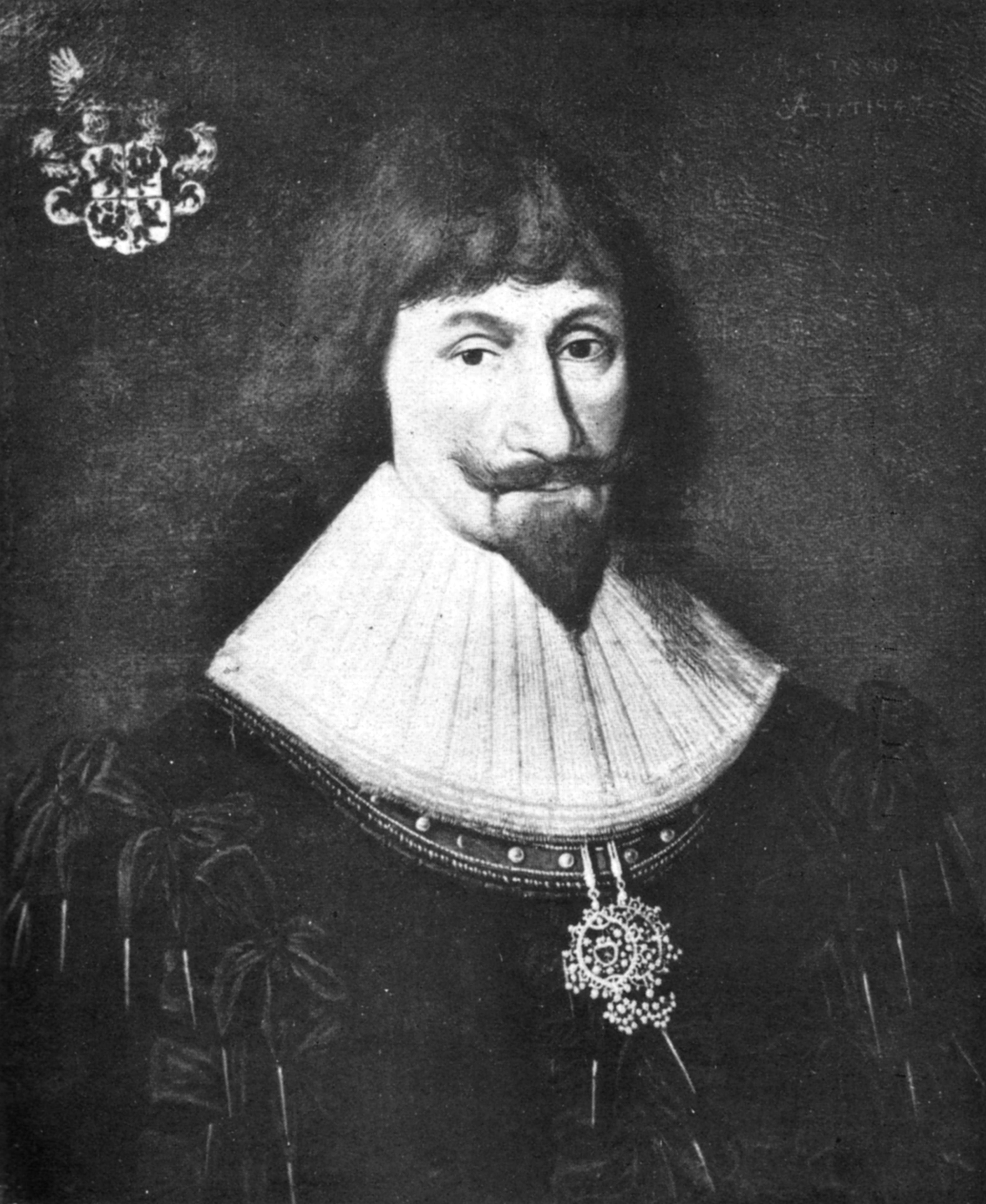 Dodo Reichsfreiherr zu Inn- und Knyphausen (1583 – 1636) Kgl. schwedischer Feldmarschall Gemälde in Haus Daren