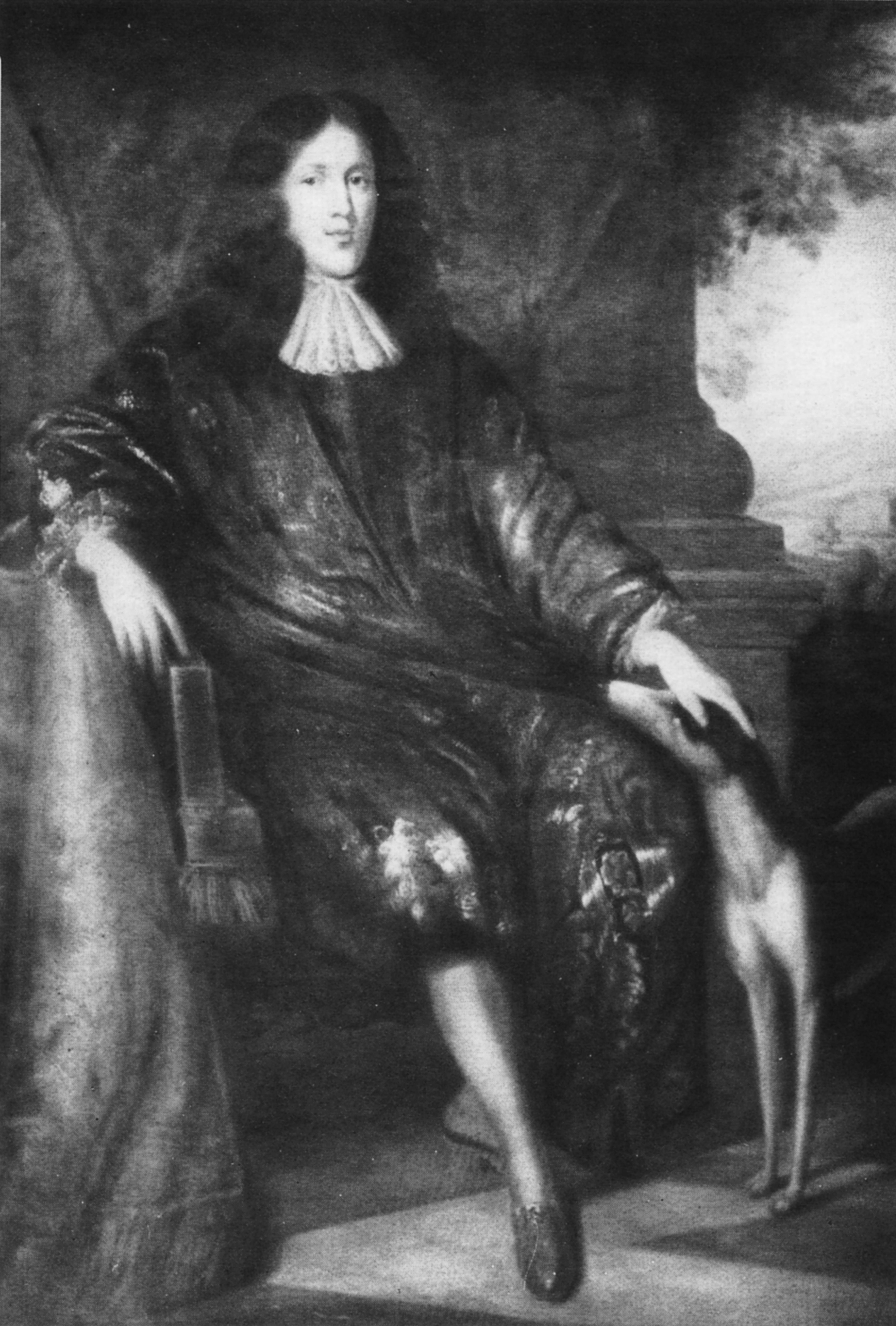 Dodo Reichsfreiherr zu Inn- und Knyphausen (1641 – 1698) Kurbrandenburgischer Hofkammerpräsident Gemälde von 1688 (Goedens)