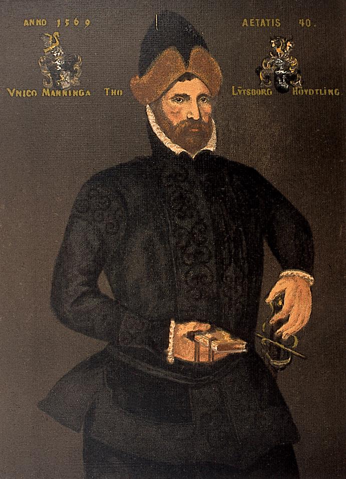 Häuptling Unico Manninga (1529– 1588)