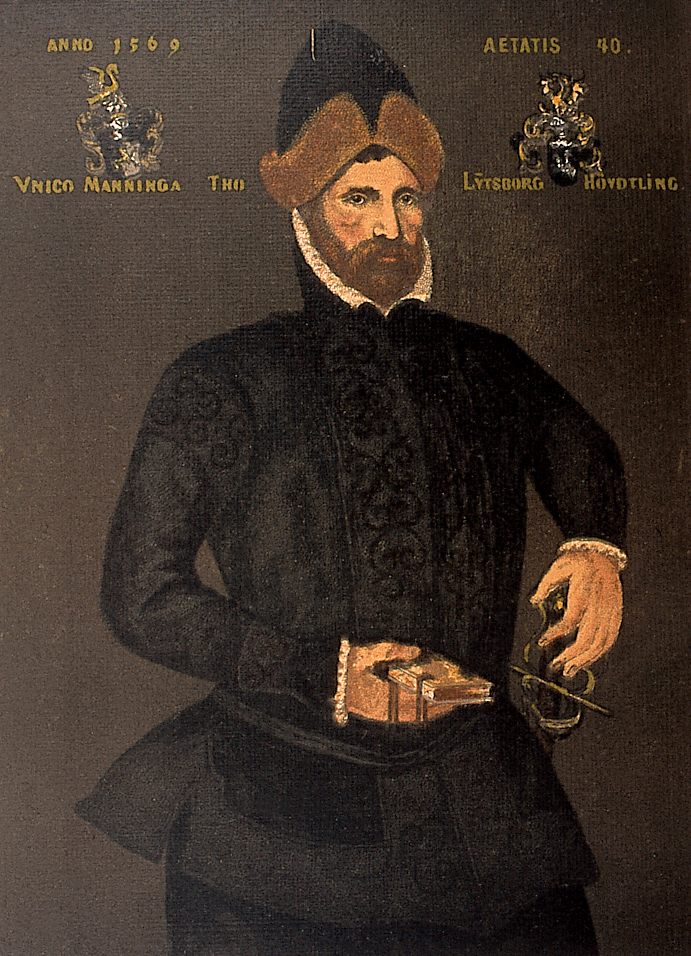 Häuptling Unico Manninga (1529 – 1588)